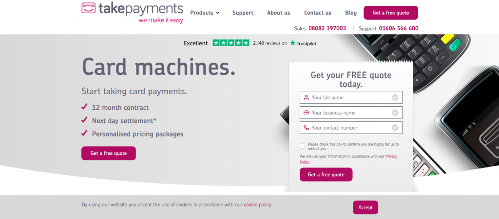 Takepayments Merchant Accounts Review - Perfect for SMEs 5